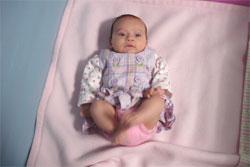 показатели развития ребенка в 2 месяца