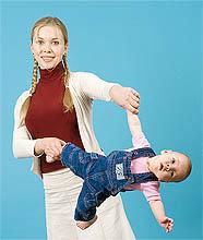 Динамическая гимнастика с ребенком