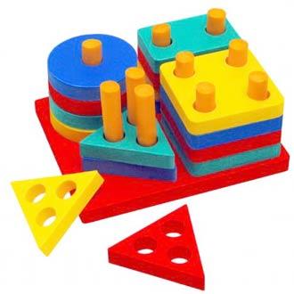 Изучаем цвета и формы с ребенком в возрасте 1 – 2 лет