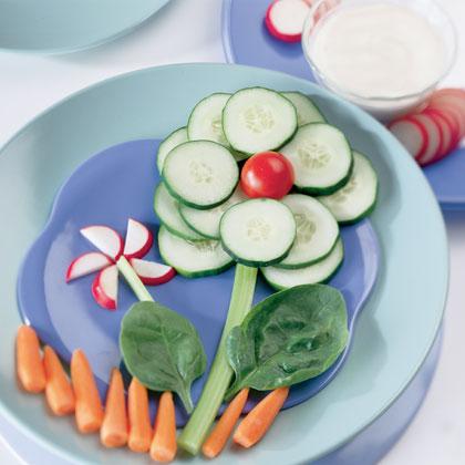 10 идей для оформления детских блюд