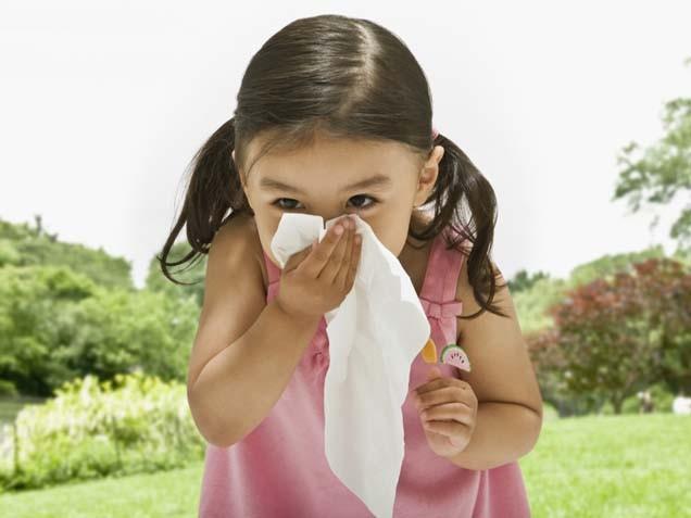 аллергический кашлель у детей