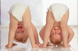 Детские одноразовые подгузники