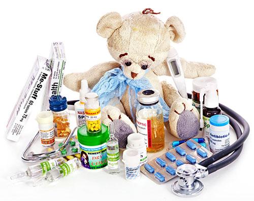 Список лекарств в аптечке