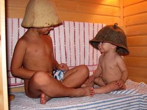 Можно ли ребенку в баню