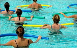Упражнения аквааэробики для беременных