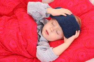 Как сделать компресс ребенку