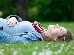 Хорошее настроение во время беременности