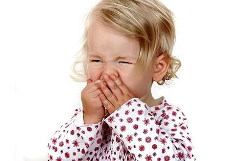 Ребёнок часто чихает