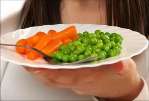 Как приготовить овощи ребенку