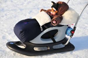 Коляска для зимнего ребенка - как выбрать зимнюю коляску