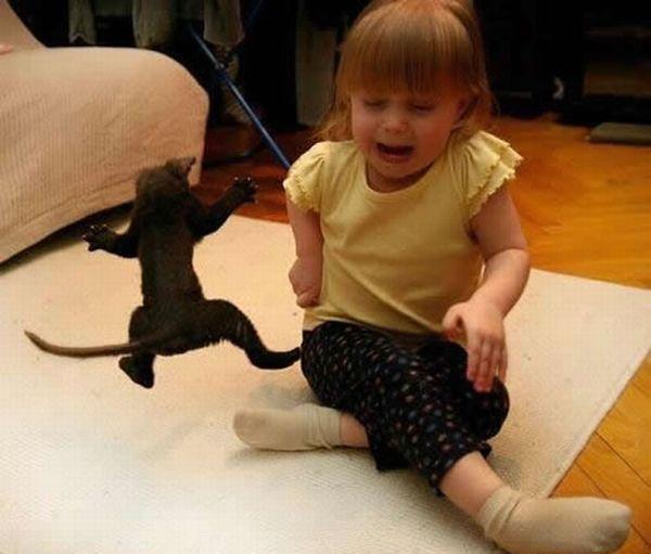 Смешные фото маленьких детей - фото 5