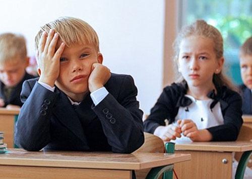 Ребенок дерется в школе