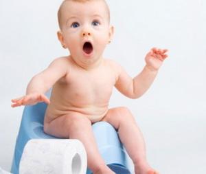 Когда начинать высаживать ребенка на горшок