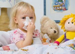 Можно ли гулять с больным ребенком