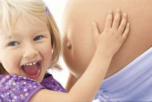 Мама и ребенок на 33 неделе беременности