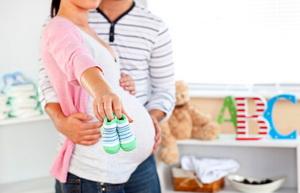 "Мама и ребенок на 34 неделе беременности"""
