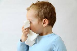 Признаки и симптомы ОРЗ у детей