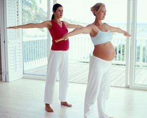 Зарядка во время беременности
