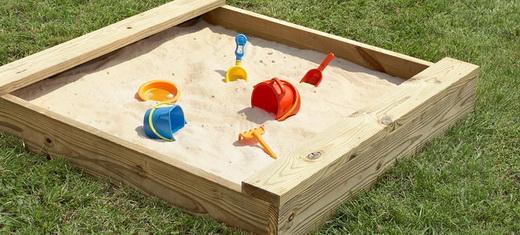 Песочника для детской площадки