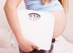 Набор веса при беременности: причины, норма, график, таблица