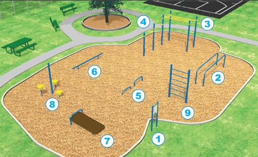 План детской площадки своими руками