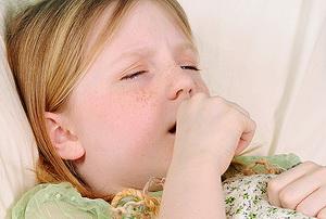 Затяжной кашель у ребёнка