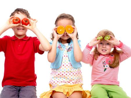 Как защитить ребенка от вирусов с помощью правильного питания