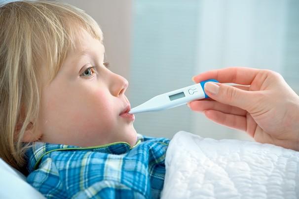 Белая гипертермия у детей