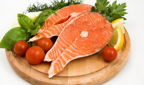 Красная рыба для будущих мам