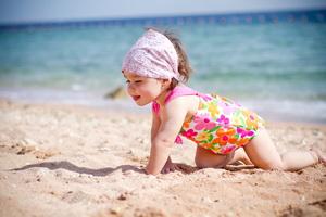 Отдых на море с грудным ребенком