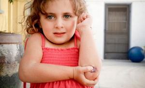 Чем обработать ребенку рану