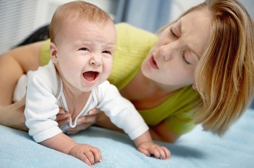 Тремор у новорождённых