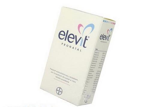 Сколько принимать элевит при беременности