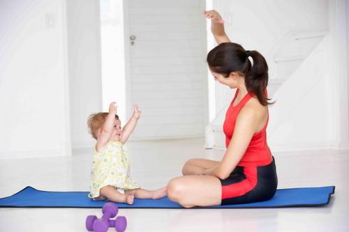 Гимнастика после родов для похудения
