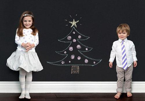 Новогодние конкурсы для маленьких детей