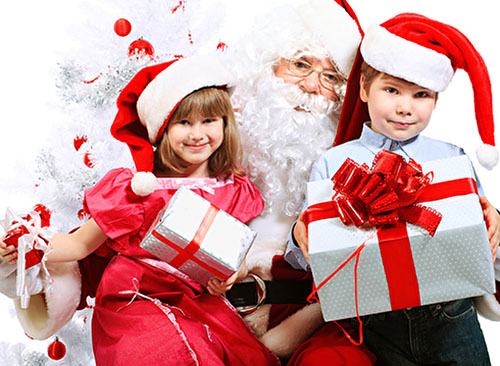 Сценарий Нового года для детей 4-5 лет