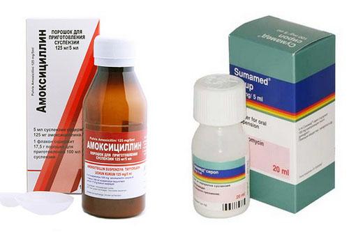 Антибиотик ребенку