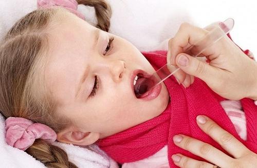 Катаральная ангина у детей