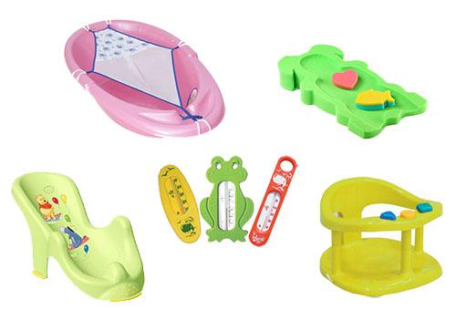 Аксессуары для купания новорожденного