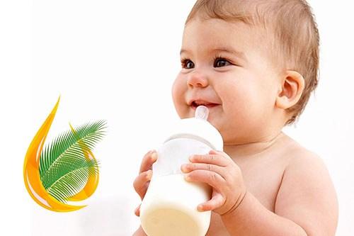 Пальмовое масло в детских смесях