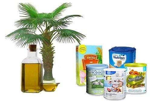 Польза пальмового масла в детских смесях