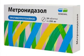Метронидазол против лямблий