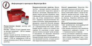 характеристики препарата