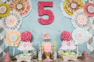 как оформить зал на день рождения