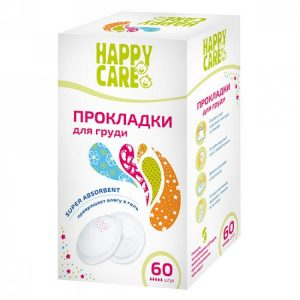 упаковка прокладок Happy Care